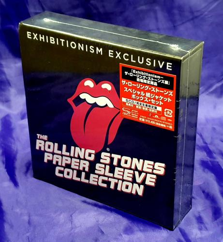 ROLLING STONES - Exhibitionism Exclusive + Paper, Coaster & Sticker - Others
