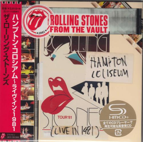 ROLLING STONES - From The Vault: Hampton Coliseum - Live 1981 (Bob Clearmountain Mix) - Others