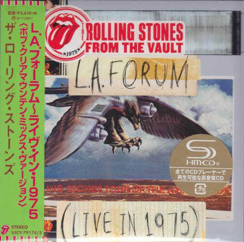 ROLLING STONES - From The Vault: L.A. Forum - Live 1975 (Bob Clearmountain Mix) - Autres