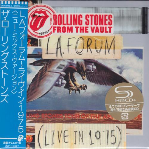 ROLLING STONES - From The Vault: L.A. Forum - Live 1975 - Autres