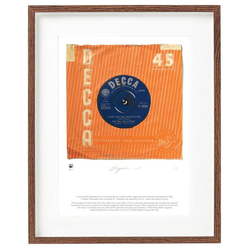ROLLING STONES - (I Can't Get No) Satisfaction - Supersizeart Print - Poster / Display