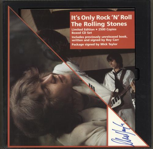 ROLLING STONES - It's Only Rock 'N' Roll - Autographed - Autres