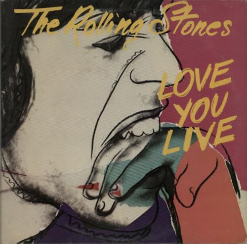 Rolling Stones Love You Live - 1St UK Double Vinyl LP