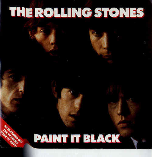 Rolling stones paint it black uk 7 vinyl record lon264 for The rolling stones paint it black