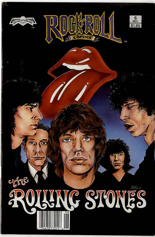 ROLLING STONES - Rock 'N' Roll Comics - Others