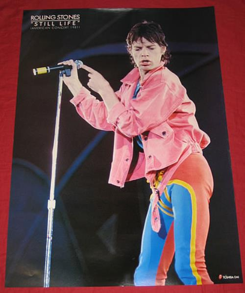 ROLLING STONES - Still Life - Poster / Affiche