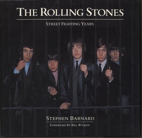ROLLING STONES - Street Fighting Years - Livre