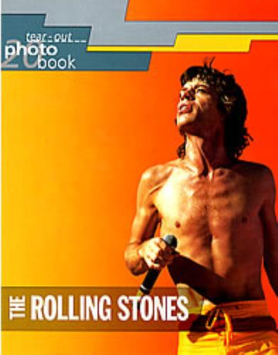 ROLLING STONES - Tear-Out Photo Book - Livre