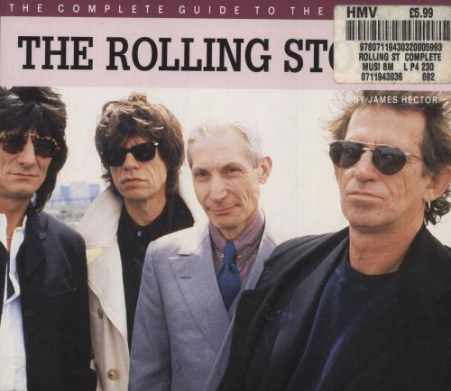 ROLLING STONES - The Complete Guide To - Book