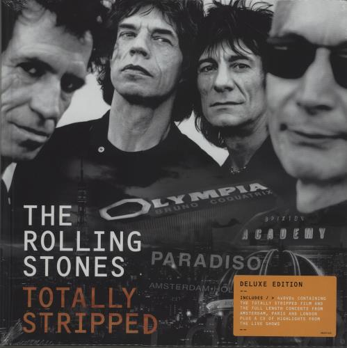 ROLLING STONES - Totally Stripped - Sealed Deluxe Edition - DVD