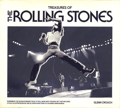 ROLLING STONES - Treasures Of The Rolling Stones - Book