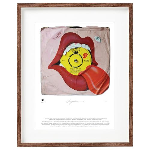 ROLLING STONES - Tumblin' Dice - SuperSizeArt Numbered Print - Poster / Display