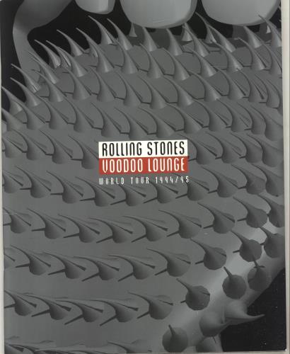 ROLLING STONES - Voodoo Lounge World Tour 94/95 + Bag + Ticket Stub + Merch catalogue - Autres