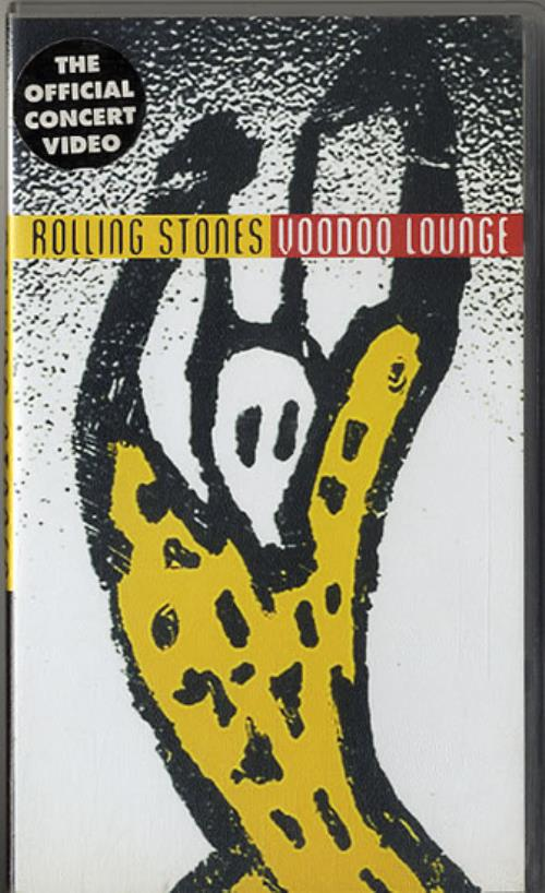 ROLLING STONES - Voodoo Lounge - VHS