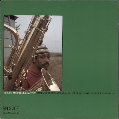 MITCHELL, ROSCOE - Roscoe Mitchell Quartet - Maxi 33T
