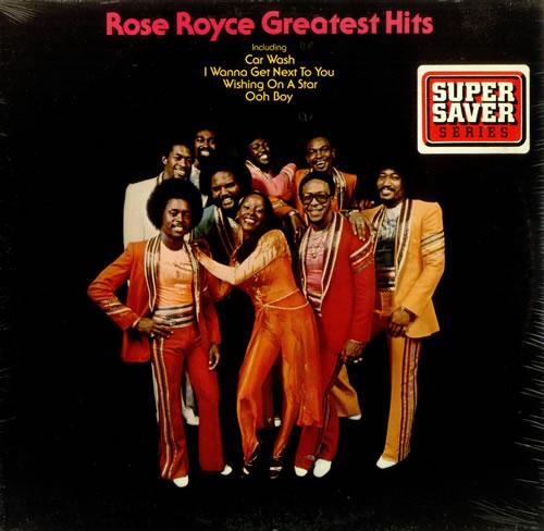 Rose Royce Greatest Hits Sealed Usa Vinyl Lp Record