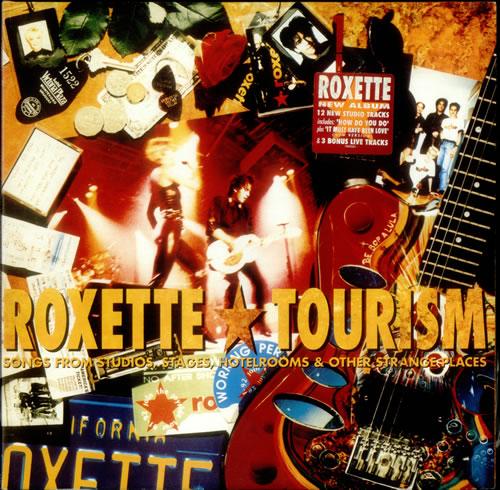 Roxette Tourism Uk Double Vinyl Lp Emd1036 Tourism Roxette