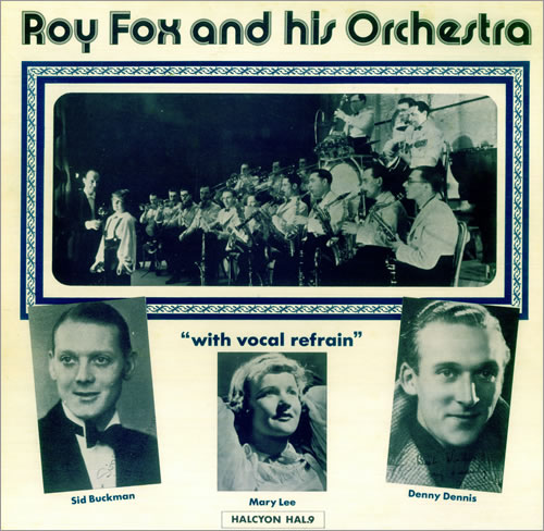 FOX, ROY - With Vocal Refrain - 12 inch 33 rpm