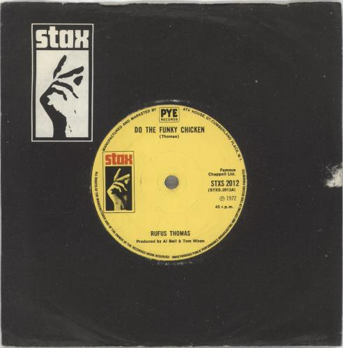 THOMAS, RUFUS - Do The Funky Chicken - 7inch x 1