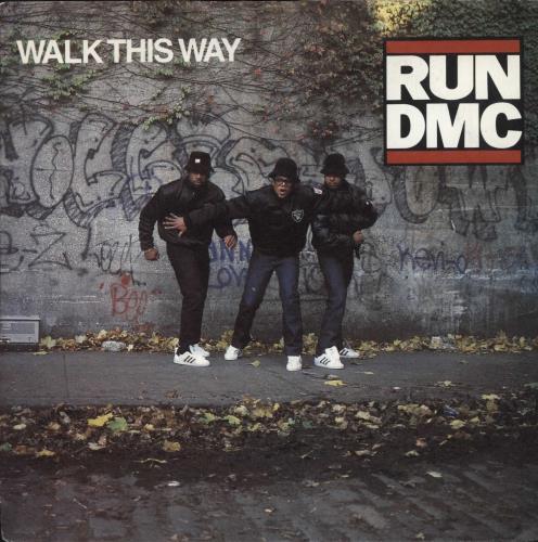 RUN DMC - Walk This Way - 7inch x 1