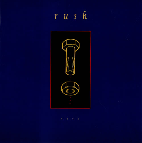 Rush Counterparts Uk Tour Programme Tour Programme