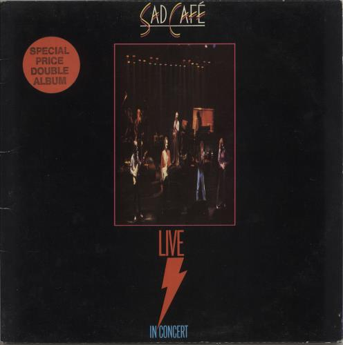 SAD CAFE - Live In Concert - 12 inch 33 rpm