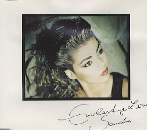 sandra everlasting love uk 5 cd single srncd85. Black Bedroom Furniture Sets. Home Design Ideas
