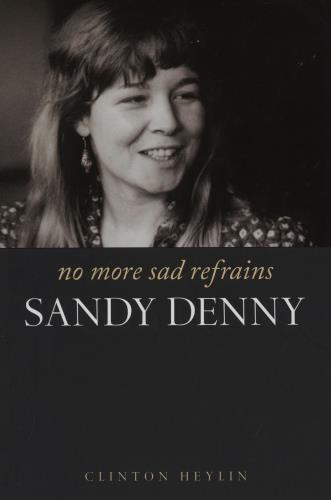 DENNY, SANDY - No More Sad Refrains - Book