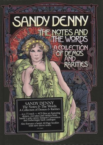 DENNY, SANDY - The Notes And The Words - A Collection Of Demos And Rarities - Others