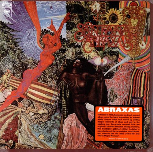 Αποτέλεσμα εικόνας για ABRAXAS-Santana vinyl cover