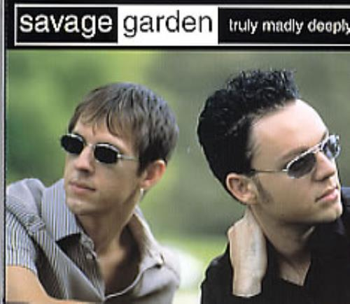 Savage Garden Truly Madly Deeply Uk 5 Cd Single 6656022 Truly Madly Deeply Savage Garden