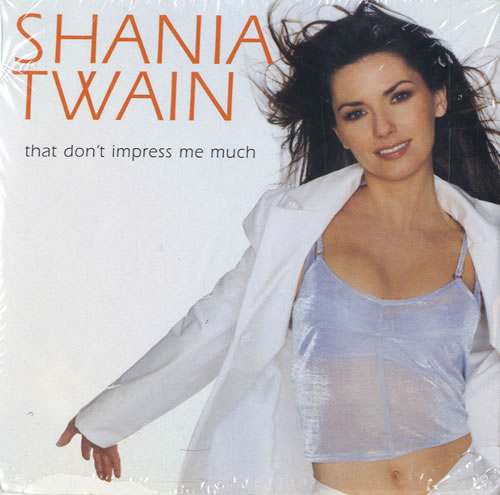 Shania Twain That Don T Impress Me Much Vinyl Records Lp