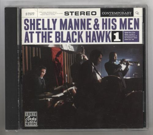 MANNE, SHELLY - At The Black Hawk 1 - CD