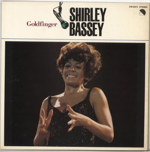 Bassey, Shirley Goldfinger