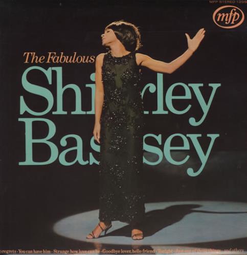 BASSEY, SHIRLEY - The Fabulous Shirley Bassey - Front Laminated - Maxi 33T