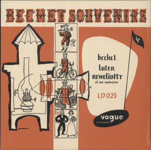 BECHET, SIDNEY - Bechet Souvenirs - Orange Vinyl - Sealed - Maxi 33T