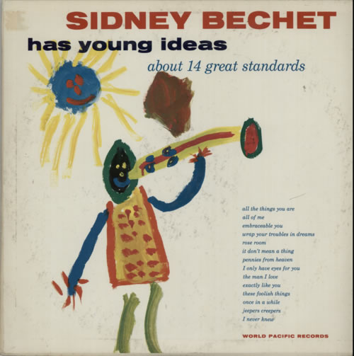 BECHET, SIDNEY - Has Young Ideas - Maxi 33T