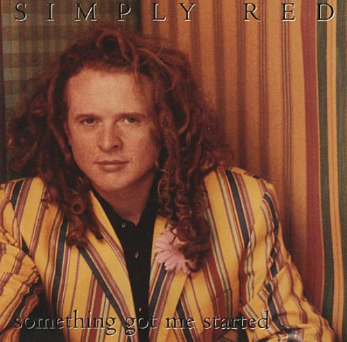 Simply Red Something Got Me Started Usa Promo 5 Quot Cd Single