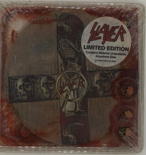 Slayer Seasons In The Abyss Blood Pack Usa Promo Cd