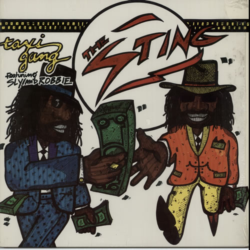 SLY & ROBBIE - Taxi Gang - 12 inch 33 rpm