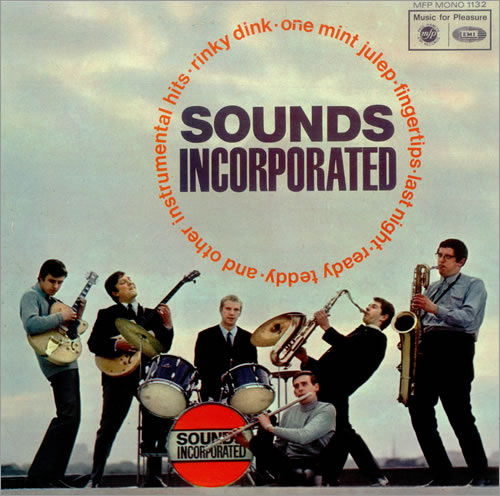 SOUNDS INCORPORATED - The Original Sounds Incorporated - 12 inch 33 rpm