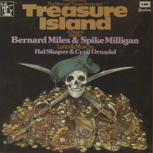 SPIKE MILLIGAN - Treasure Island - 12''33回転