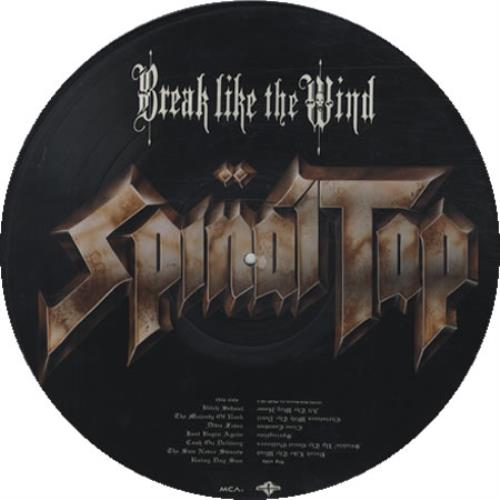 SPINAL TAP - Break Like The Wind - 12 inch 33 rpm
