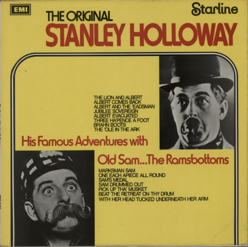 HOLLOWAY, STANLEY - The Original Stanley Holloway - 2nd - Maxi 33T