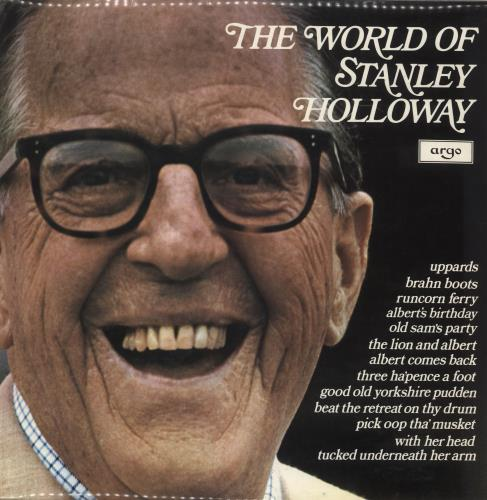 HOLLOWAY, STANLEY - The World Of Stanley Holloway - Maxi 33T