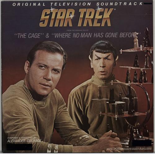 STAR TREK - Original Soundtrack - Maxi 33T