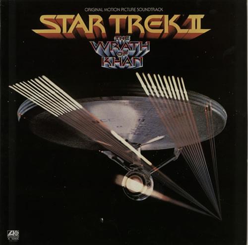 STAR TREK - Star Trek II - The Wrath Of Khan - 12 inch 33 rpm