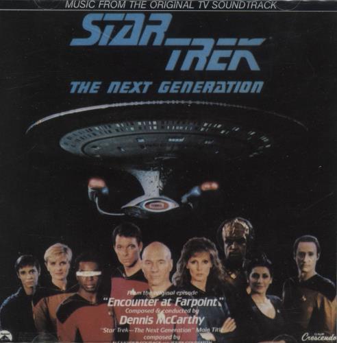 STAR TREK - Star Trek: The Next Generation - ''Encounter At Farpoint'' - CD