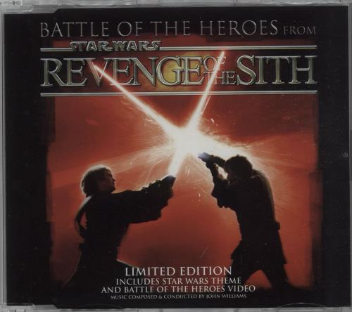 STAR WARS - Battle Of The Heroes - CD