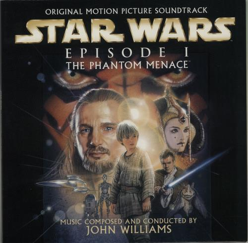 STAR WARS - Episode 1 The Phantom Menace - Maxi 33T